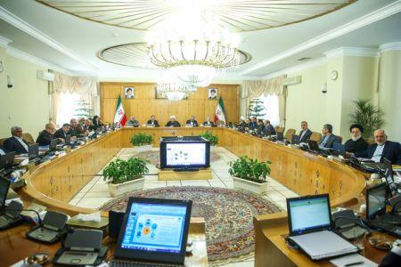 مصوبات جلسه هیات دولت