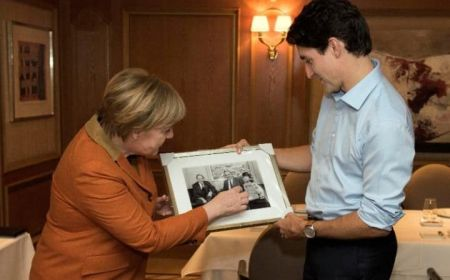 اخبار بین الملل ,خبرهای  بین الملل , ایوانکا ترامپ و مرکل شیفته ونخست وزیر کانادا