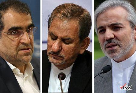 تلاش برای کاندیداتوری جهانگیری، قاضی زاده هاشمی و نوبخت در انتخابات ریاست جمهوری 96 در کنار روحانی