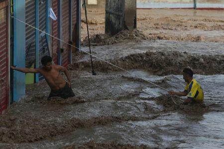سیل در پرو با حداقل ۶۲ کشته