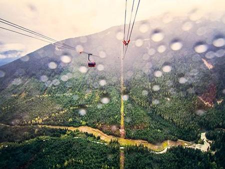 عکسهای جالب,تصاویر دیدنی,بلند ترین تله کابین جهان