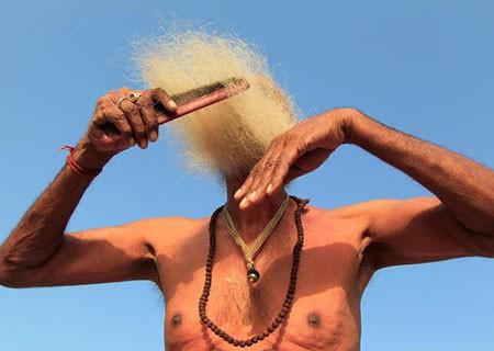 عکسهای جالب,عکسهای جذاب,مرد هندو