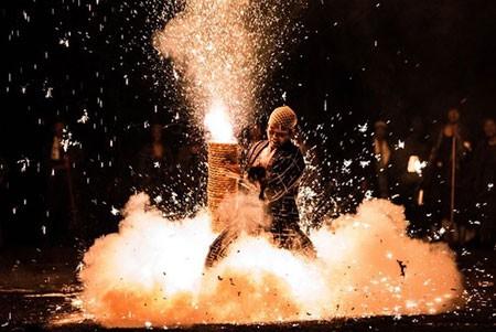 عکسهای جالب,عکسهای جذاب,آتش بازی