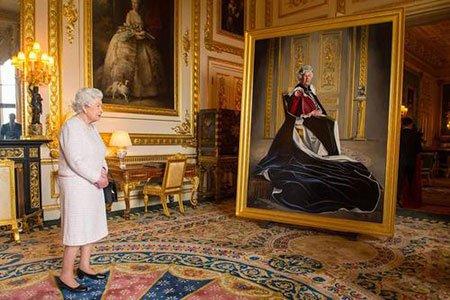 تصاویر دیدنی,تصاویر جالب,ملکه بریتانیا