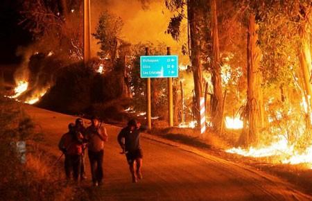 عکسهای جالب,تصاویر جالب,آتش سوزی