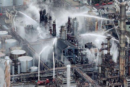 عکسهای جالب,تصاویر جالب,پالایشگاه نفتی