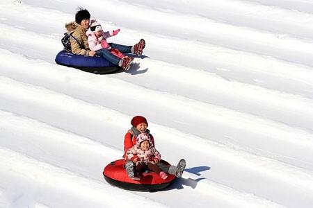 عکسهای جالب,تصاویر جالب,تفریح برفی