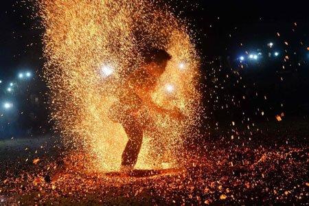 عکسهای جالب,تصاویر جالب,رقص آتش