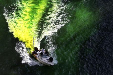 عکسهای جالب,عکسهای جذاب,رودخانه شیکاگو