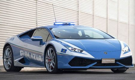 لامبورگینی خودروی جدید پلیس در ایتالیا/تصاویر