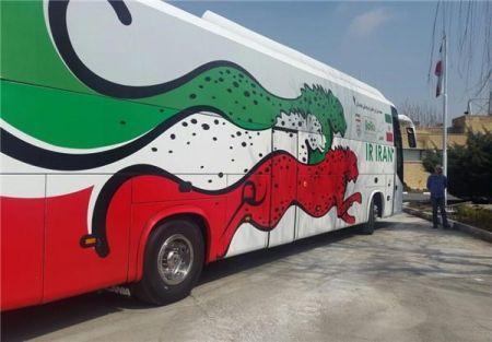 اخبار,اخبار ورزشی ونتایج مسابقات,اتوبوس تیم ملی ایران