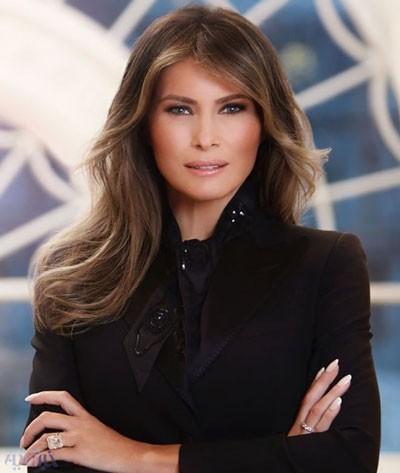 تصویر همسر ترامپ جنجال به پا کرد(عکس)