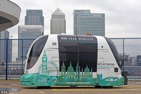 تصویر تاکسیهای بدون راننده لندن منتشر شد