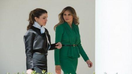 اخباربین الملل,خبرهای  بین الملل,حضور پادشاه اردن و همسرش در کاخ سفید