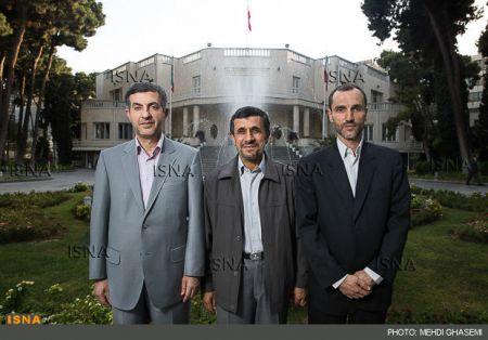 استخدام کف زن در نشست خبری احمدی نژاد!