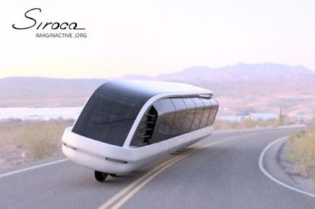 نخستین موتورسیکلت - اتوبوس دنیا