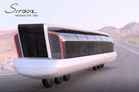 نخستین موتورسیکلت اتوبوس دنیا