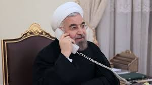 تماس تلفنی روحانی - بشار اسد