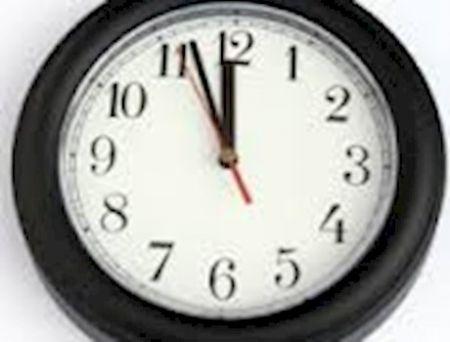 ساعت رسمی اروپا امروز یک ساعت جلو آمد