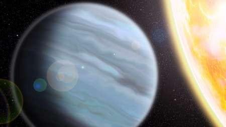 شناسایی سیاره گازی جدید