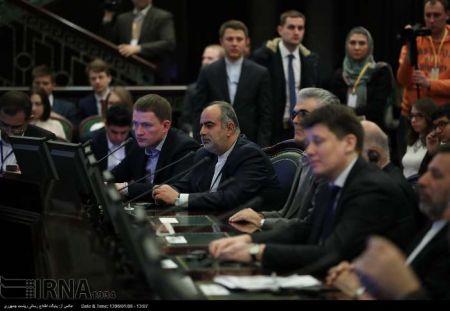 اعطا ی دکترای افتخاری دانشگاه دولتی مسکو به روحانی