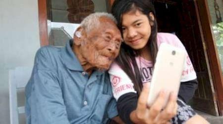 مرگ پیرترین مرد اندونزیایی با 146 سال