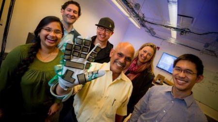 طراحی دستکش هوشمند برای اندازهگیری سفتی عضلات