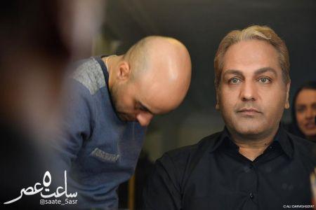گریم متفاوت مهران مدیری در  فیلم سینمایی ساعت پنج عصر +عکس