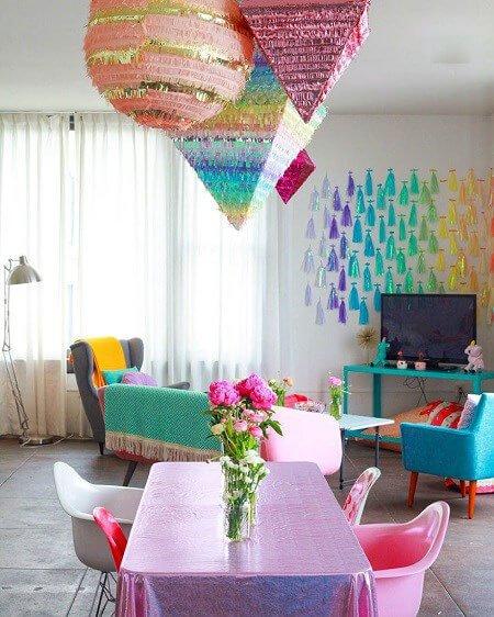 اخبار,اخبار گوناگون,رنگارنگترین آپارتمانی که تا به حال دیده اید