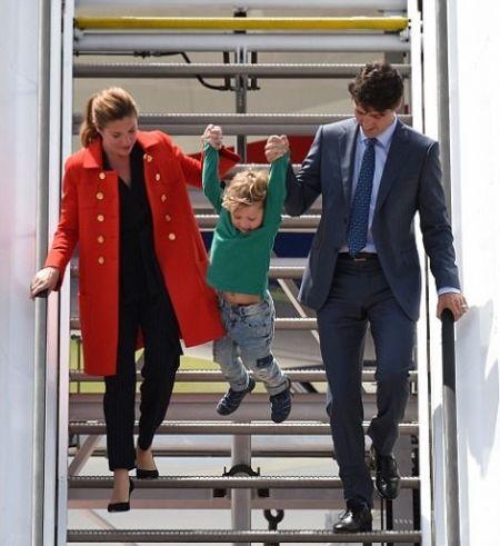 اخبارگوناگون ,خبرهای  گوناگون ,و نخست وزیر کانادا به همراه همسرش