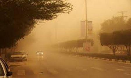 وقوع گرد و غبار در ۴ استان/ اهواز همچنان بالای ۵۰ درجه