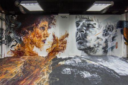 اخبارگوناگون,خبرهای  گوناگون,دیوارهای خوابگاه پاریسی