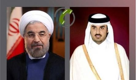 چرا امیر قطر به تلفن های روحانی پاسخ می گوید؟