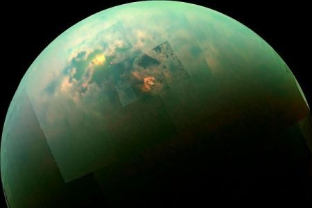 احتمال وجود حیات در یکی از ماه های زحل