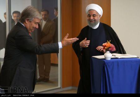 اخبارسیاسی ,خبرهای سیاسی ,دیدار روحانی ودبیر کل سازمان ملل