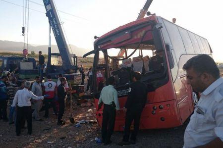 اخبارحوادث ,خبرهای حوادث ,واژگونی اتوبوس