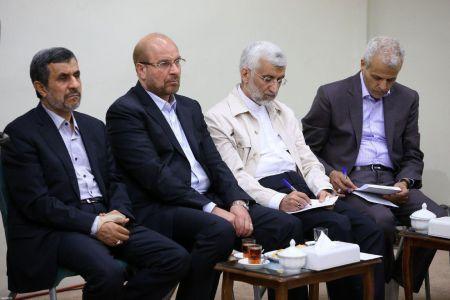 اخبارسیاسی ,خبرهای سیاسی ,احمدینژاد وقالیباف و جلیلی