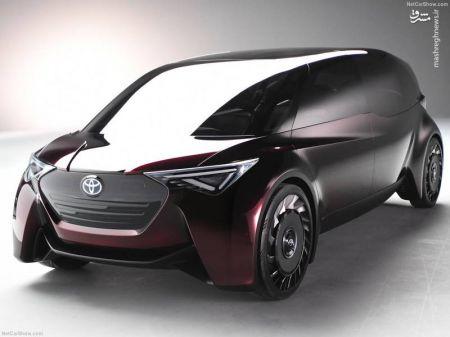 اخبار,تصاویروسایل نقلیه, رونمایی تویوتا از یک خودروی عجیب