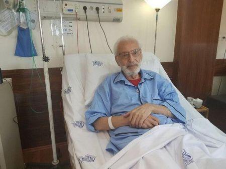 جمشید مشایخی در بیمارستان بستری شد