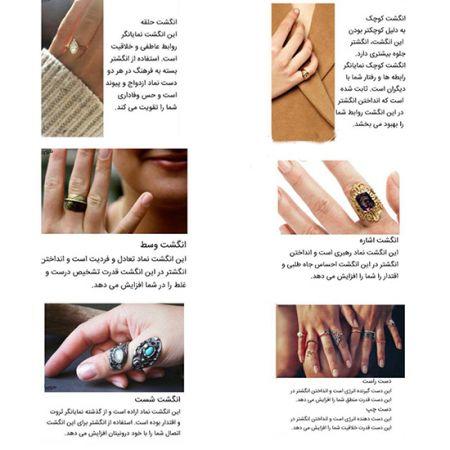 اخبار,اخبار گوناگون, معنای انگشتر در هر انگشت