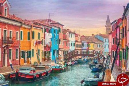 اخبار,اخبار گوناگون,رنگارنگترین مقصدهای گردشگری