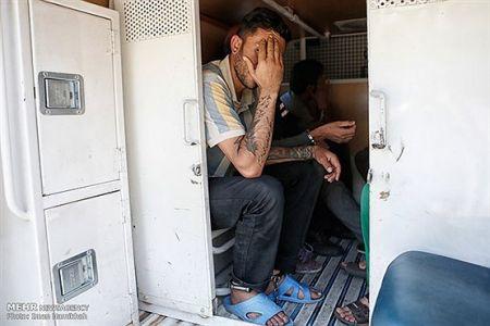 اخبارحوادث ,خبرهای حوادث , خالکوبیهای عجیب سارقان تهرانی
