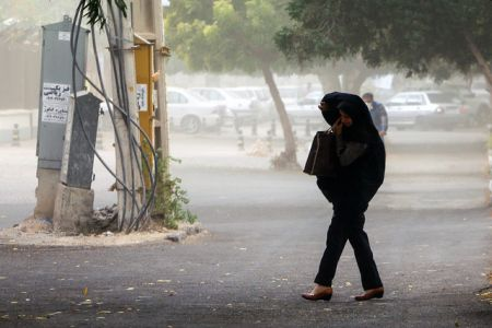 اخباراجتماعی,خبرهای  اجتماعی  ,بادهای شدید در تهران