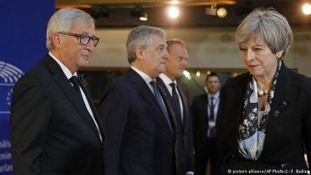 اخباربین الملل,خبرهای  بین الملل,ترزا می و اتحادیه اروپا