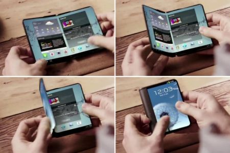 اخبار تکنولوژی,خبرهای تکنولوژی  , گوشی تاشوی کرهای