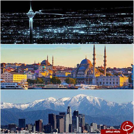 زلزله بزرگ جهان در یک شهر مهم اتفاق میافتد./عکس