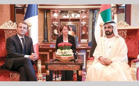چرا رئیس جمهور فرانسه به امارات سفر کرد؟