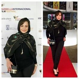 دفاع مهراوه شریفی نیا از لباسش در جشنواره اسپانیا: می خواستم باحجاب و برازنده باشم
