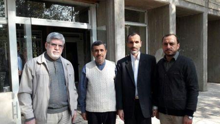 حضور بقایی در حرم حضرت عبدالعظیم حسنی به جای دادگاه