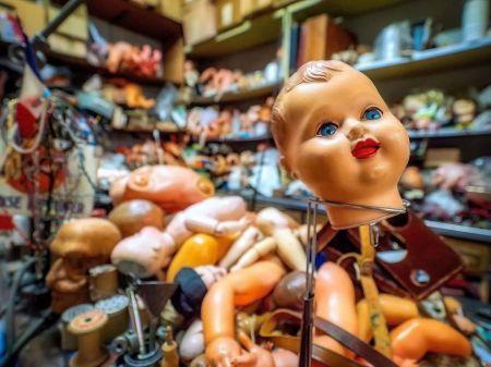 اخبارگوناگون ,خبرهای گوناگون , دکتر عروسکها در پاریس